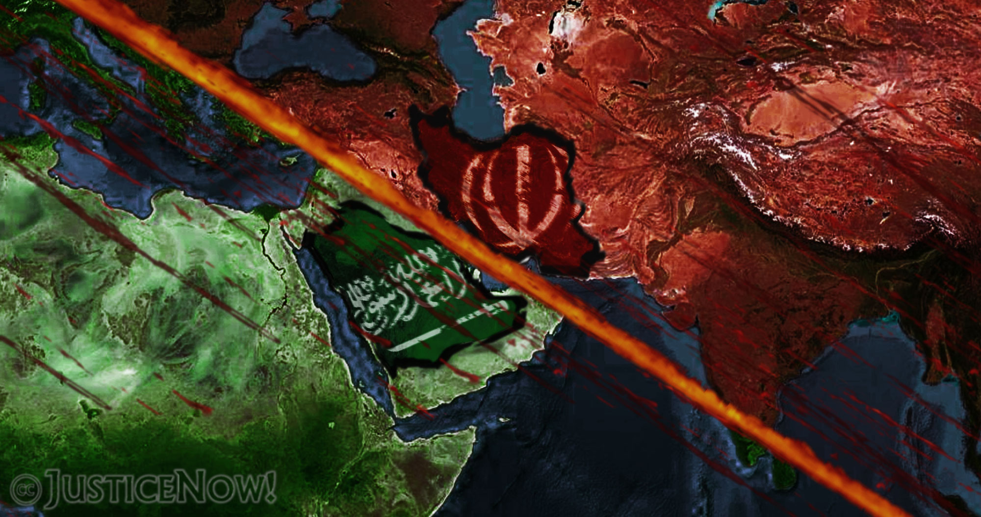 Saudi Arabia vs. Iran: Predominance in Middle East