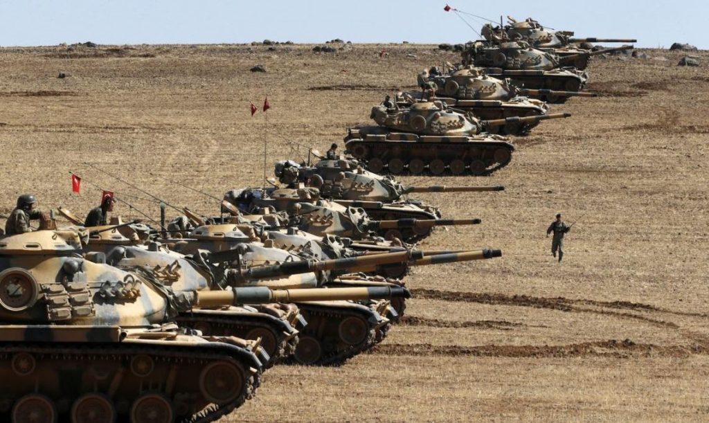 Türkische Panzer in Syrien. By Strategic Culture Foundation, licensed under CC BY-ND 2.0.