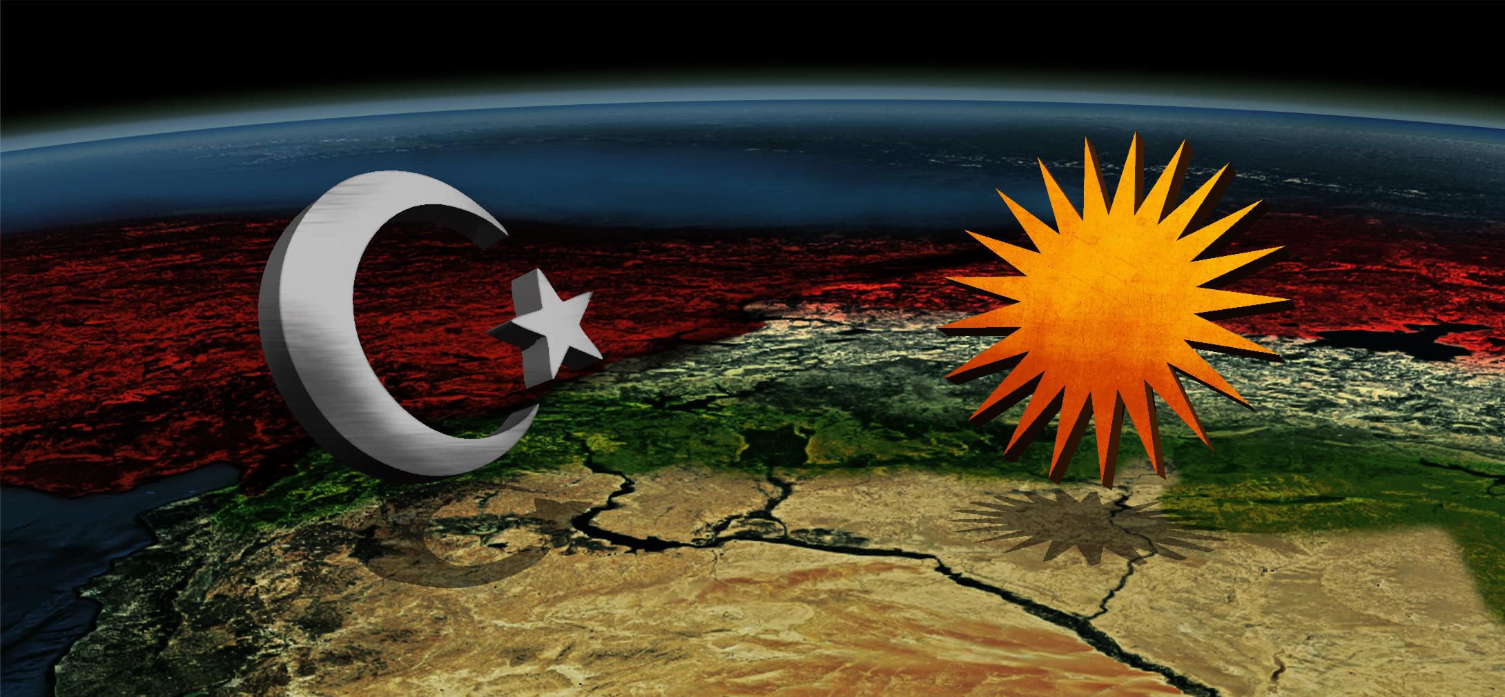 Erdoğans Krieg gegen syrisch-Kurdistan <br>  <span id='sec-title'>Der türkische Einmarsch in Syrien richtet sich gegen die Kurden, nicht den IS</span>