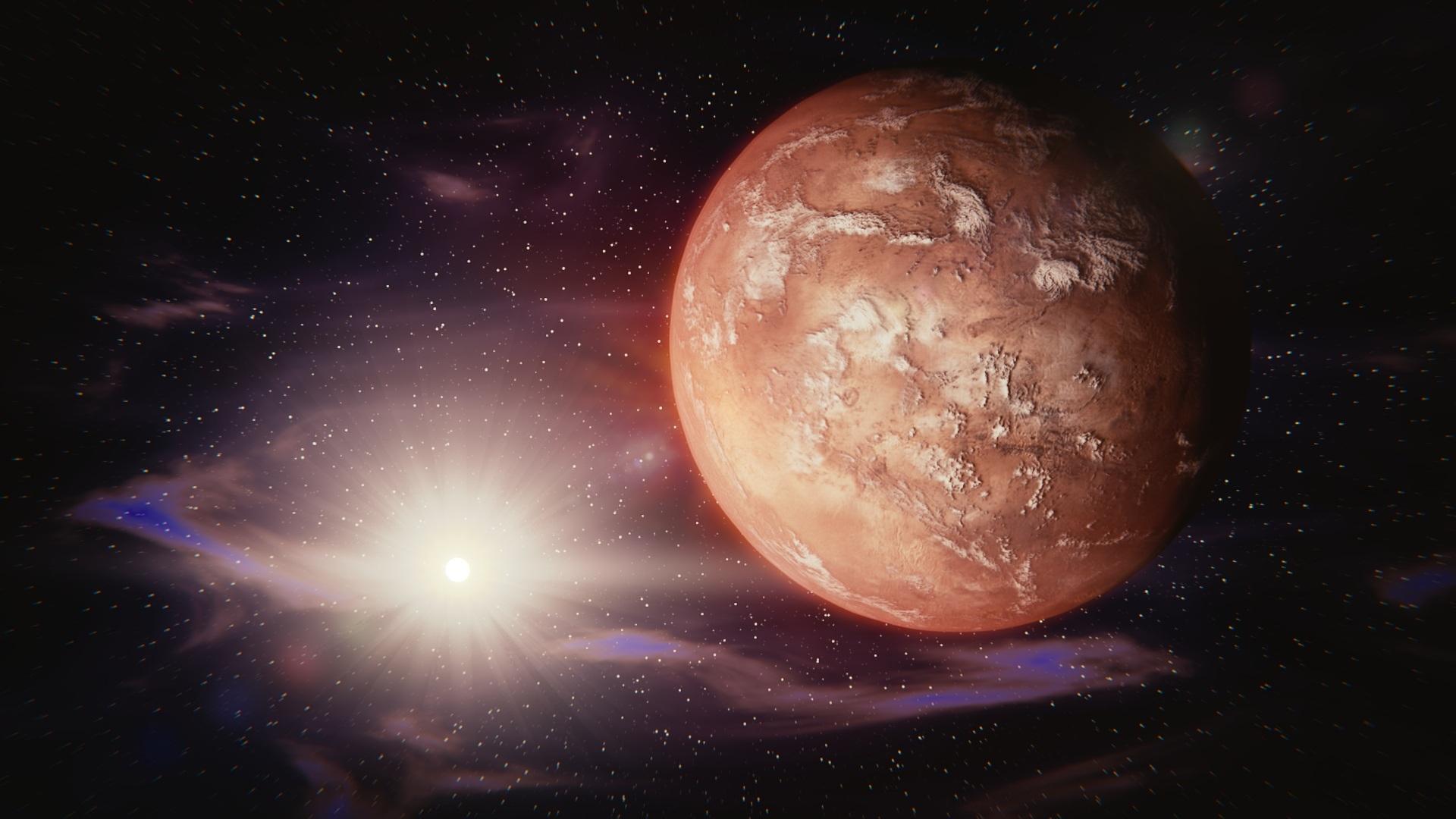Der Mars bleibt rot!