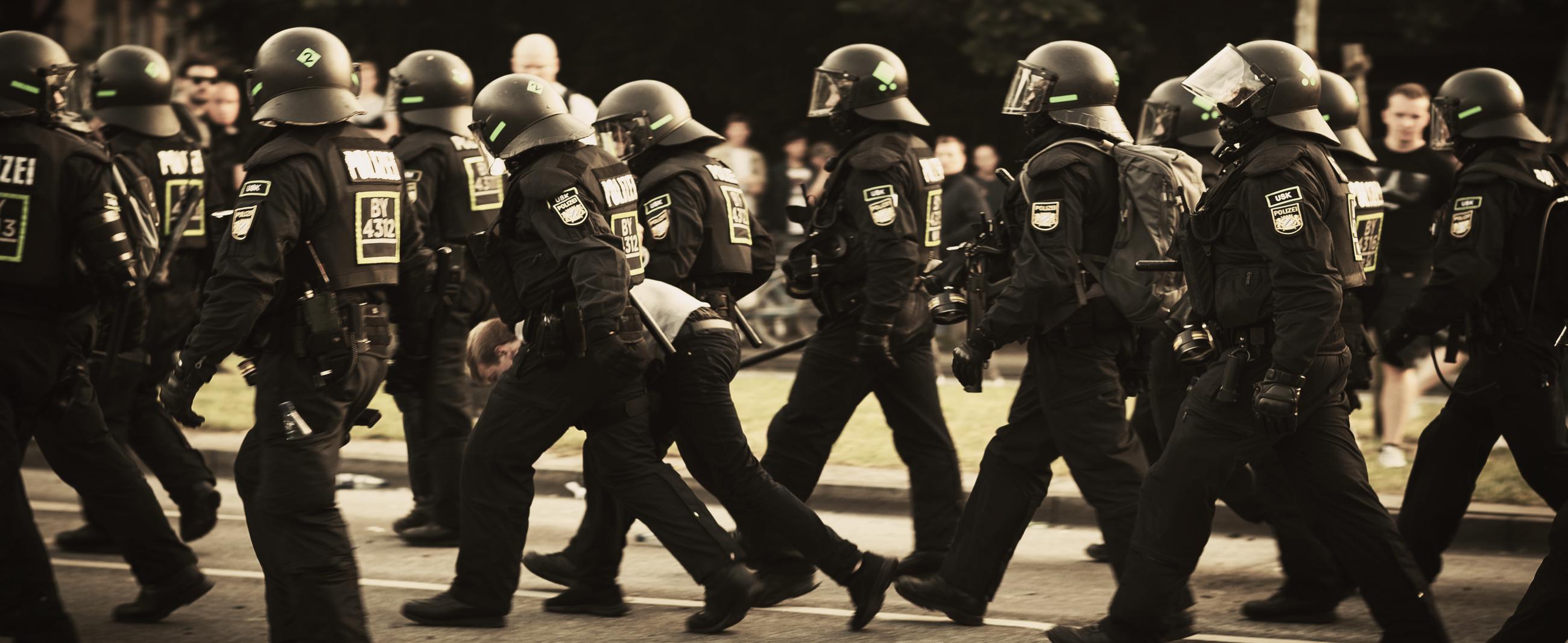 Polizei gegen G20-Demo: Eskalation mit Ansage
