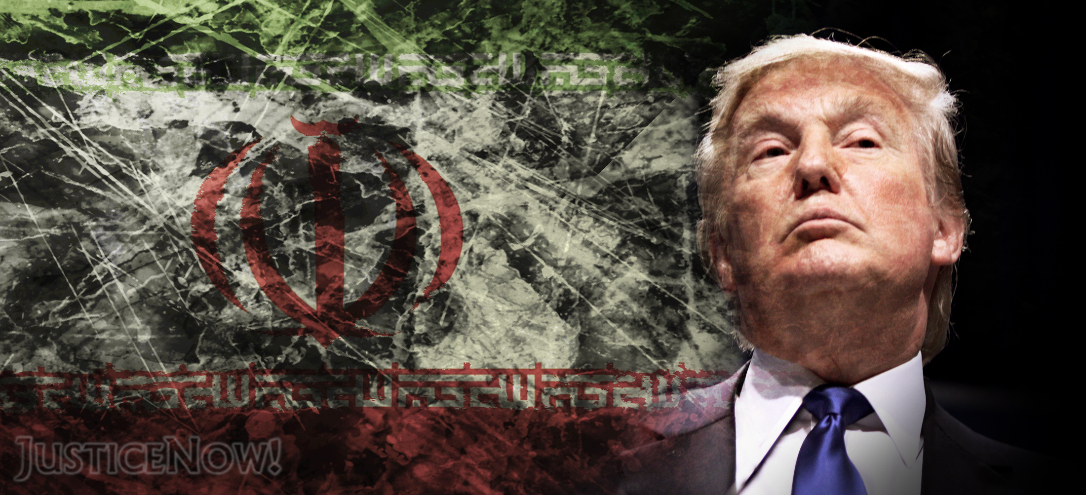 Trumps brandgefährliches Säbelrasseln gegen den Iran <br>  <span id='sec-title'>Schrotte den Iran-Deal und mach' so aus einer Atomkrise zwei Atomkrisen.</span>