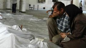 Assads Bomben regnen auf Ost-Ghouta herab