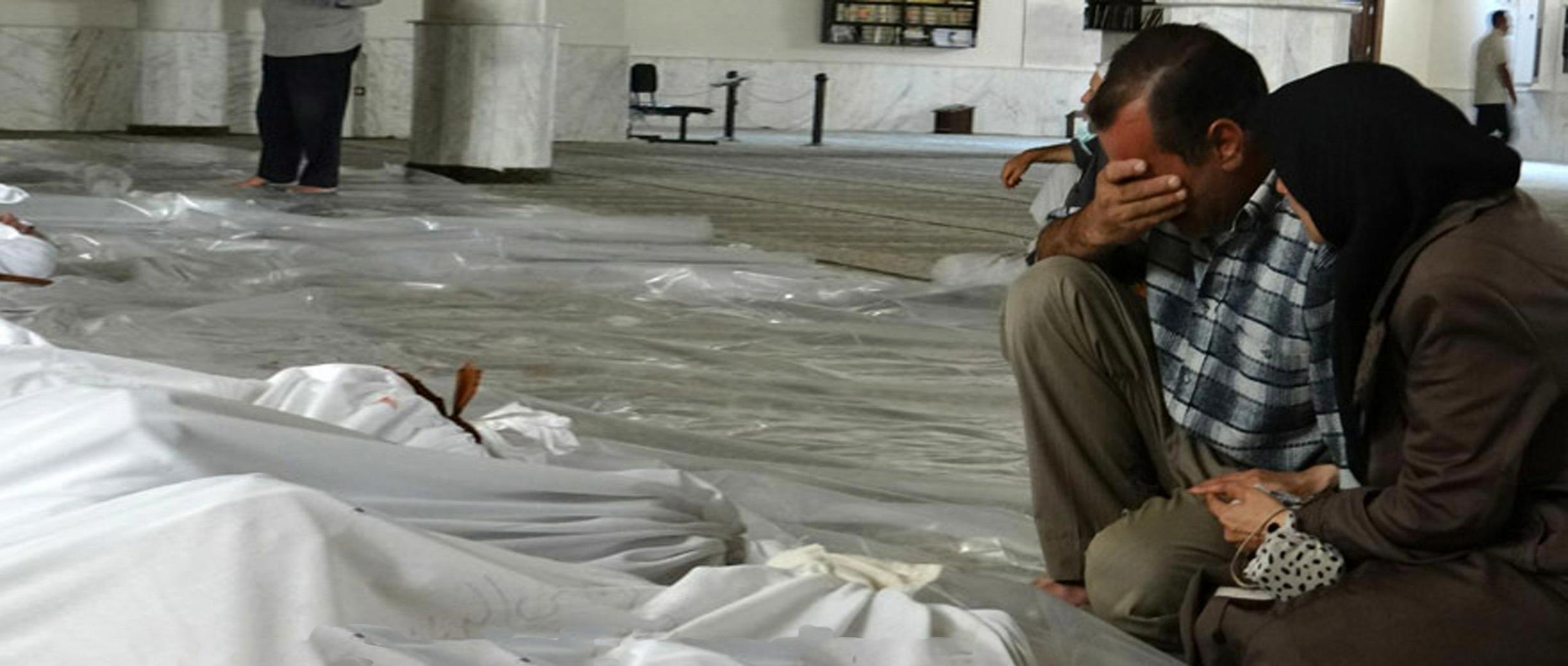 Assads Bomben regnen auf Ost-Ghouta herab <br>  <span id='sec-title'>335 Tote seit Sonntag, 1.200 weitere verletzt.</span>