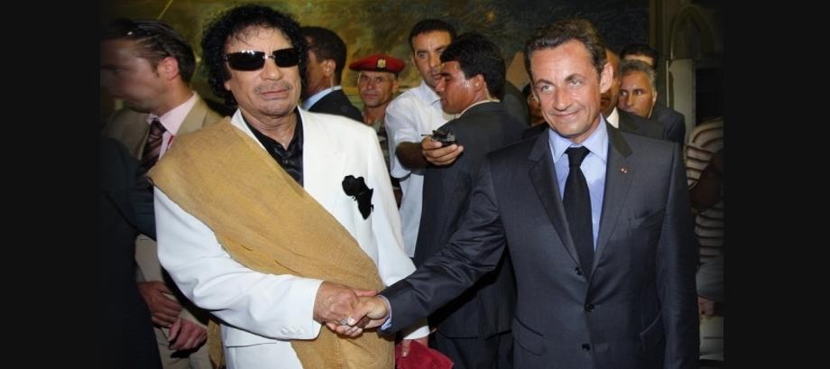 Sarkozy in Polizeigewahrsam, Ex-Präsident soll 50 Millionen Euro Bestechungsgelder von Libyens Gaddafi angenommen haben