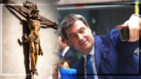 Söder und das Kreuz: verfassungswidriger Populismus