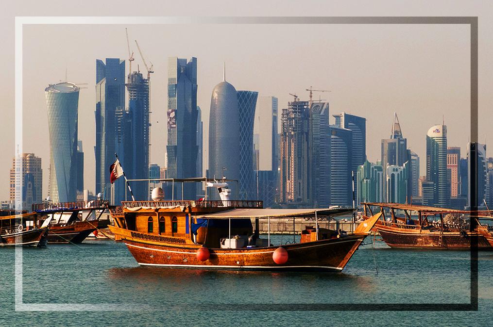 Bildergebnis für Saudi-Arabien will Katar vom Festland abschneiden