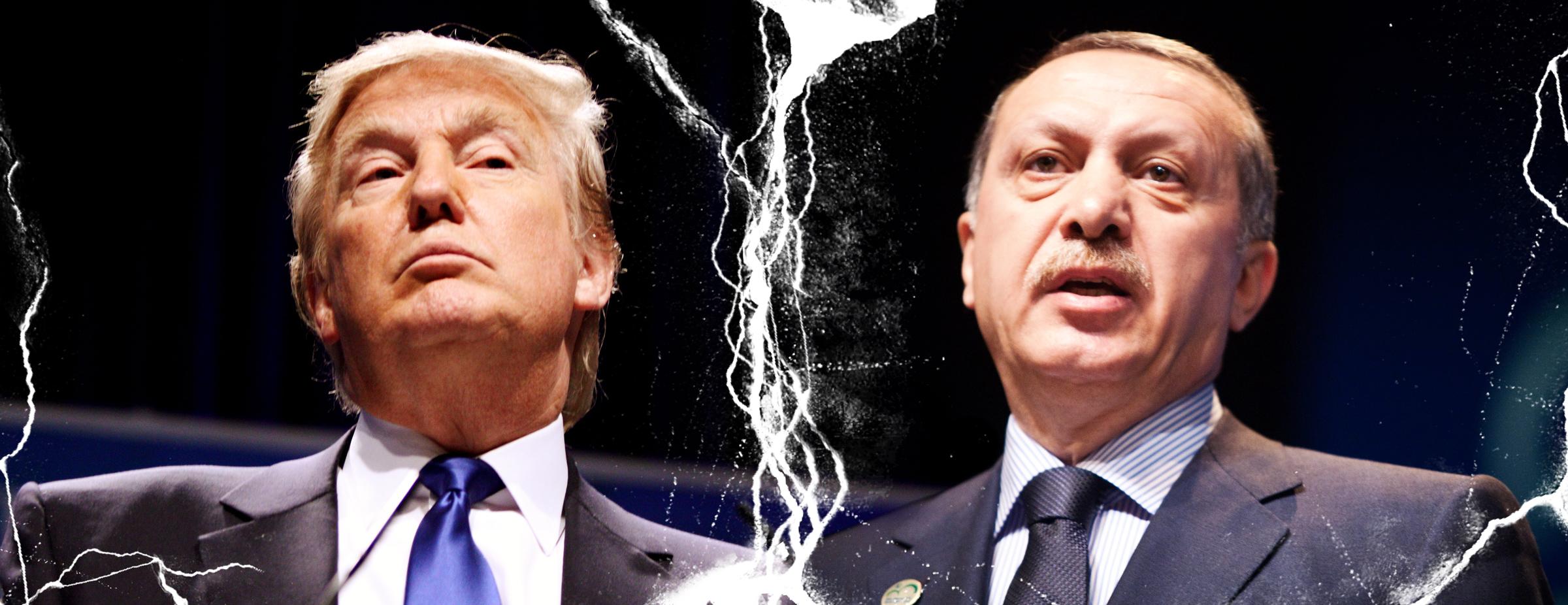 Die Spannungen zwischen Trump und Erdoğan eskalieren <br>  <span id='sec-title'>Die Causa Andrew Brunson</span>