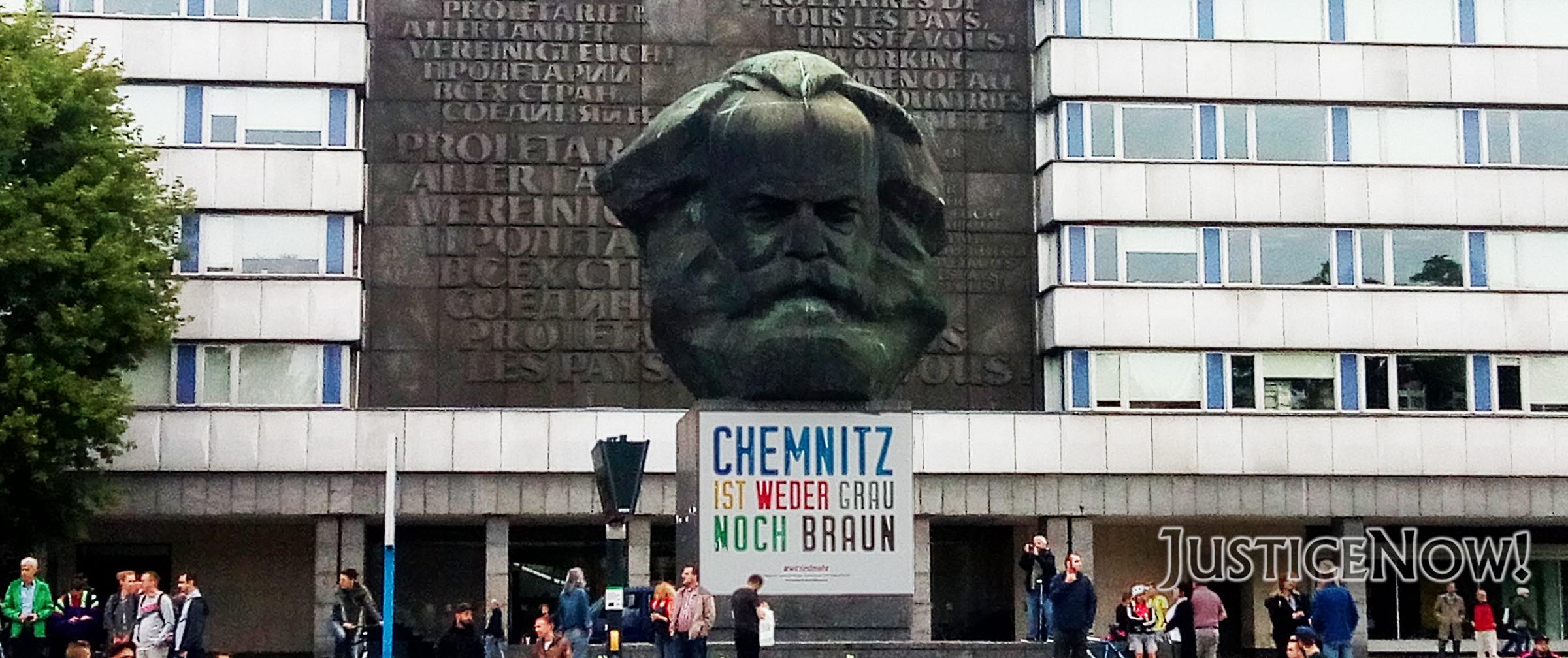 8.500 Demonstranten bei Björn Höckes Nazi-Trauermarsch in Chemnitz