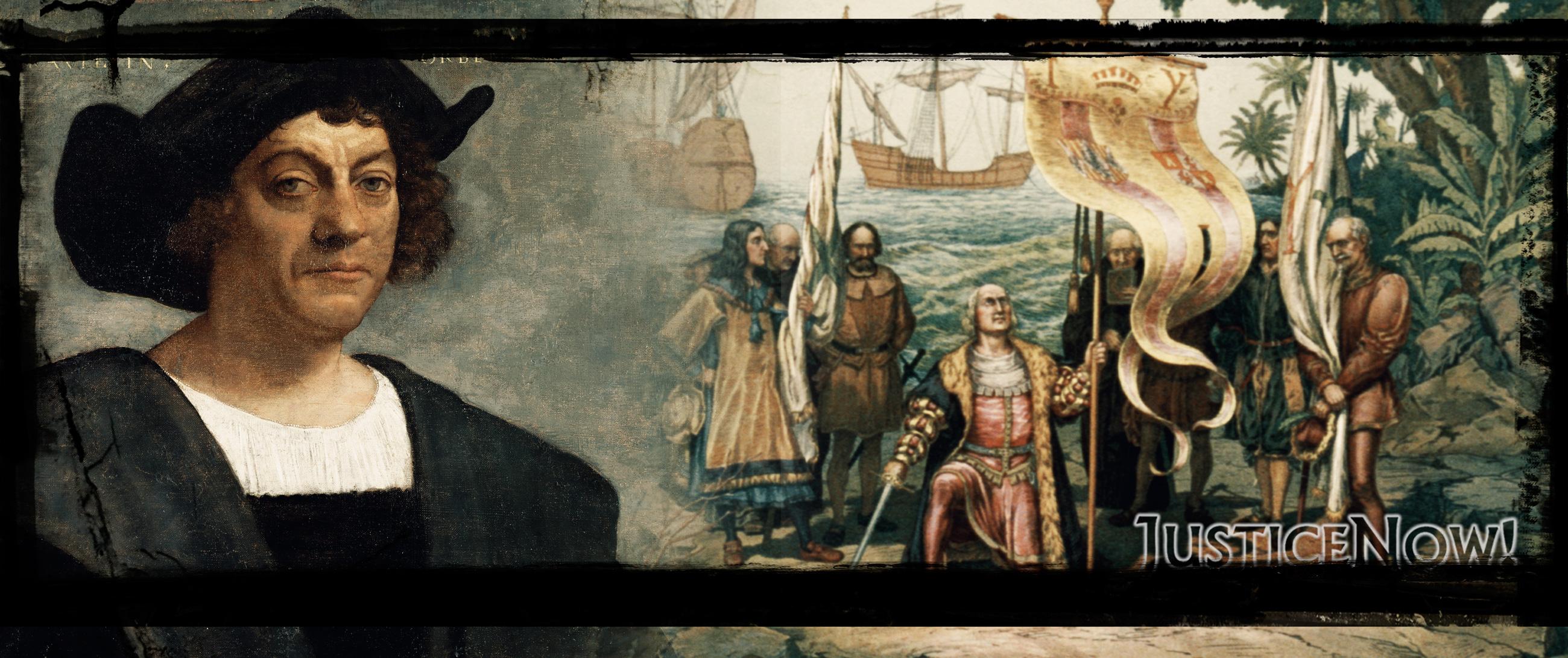 Der Kolumbus-Tag gehört endlich abgeschafft! <br>  <span id='sec-title'>Keine Zelebrierung von historischen Verbrechern</span>