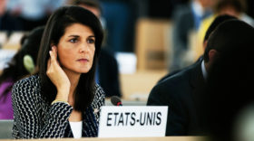 UN-Botschafterin Nikki Haley tritt zurück