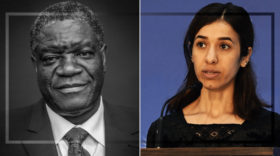 Friedensnobelpreis geht an Nadia Murad und Denis Mukwege für ihren Kampf zur Beendigung sexueller Gewalt im Krieg