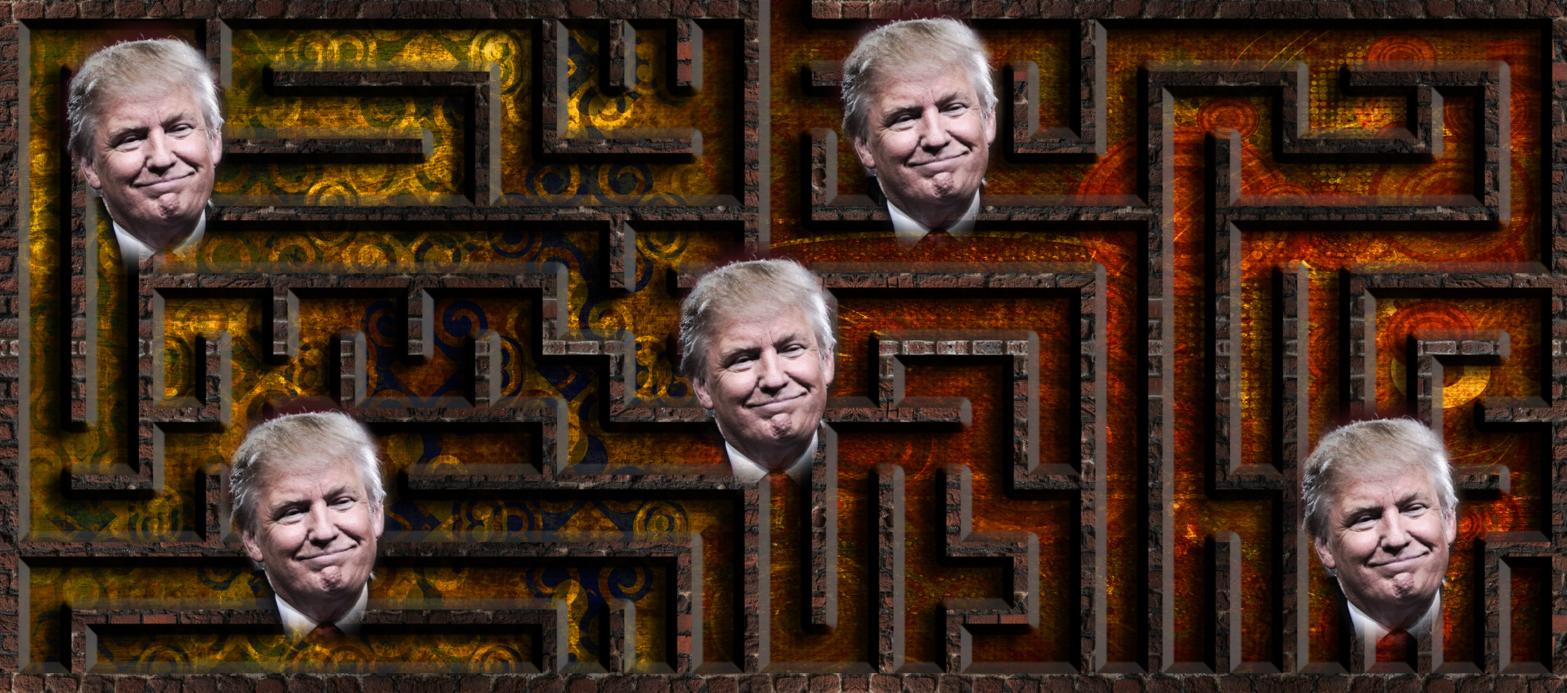 Trumps Labyrinth der Lügen