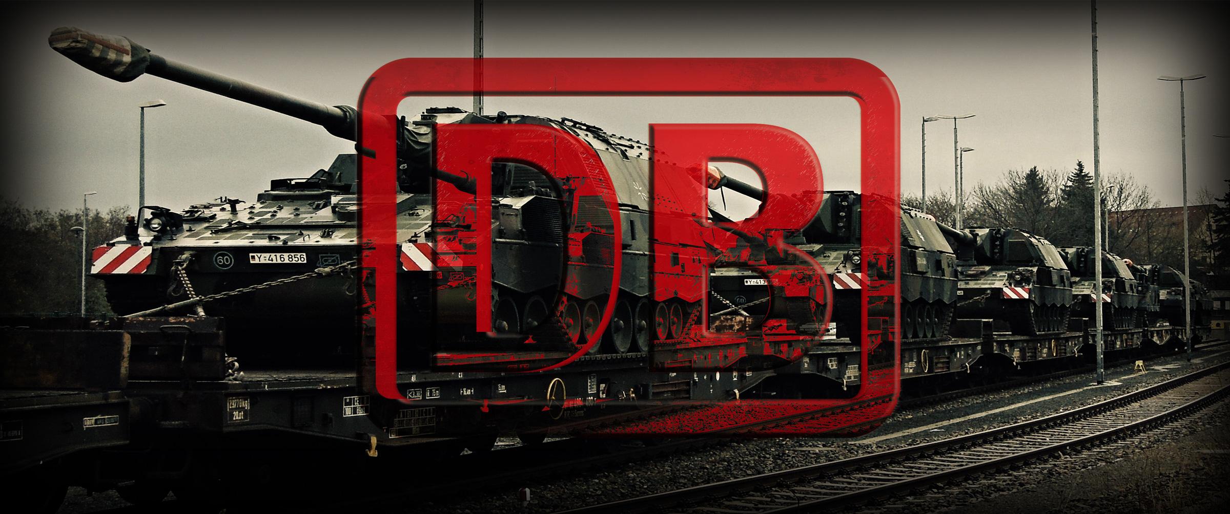 Bei Vorfahrt Krieg <br>  <span id='sec-title'>Neues zum Rahmenfrachtvertrag Bahn und Bundeswehr</span>