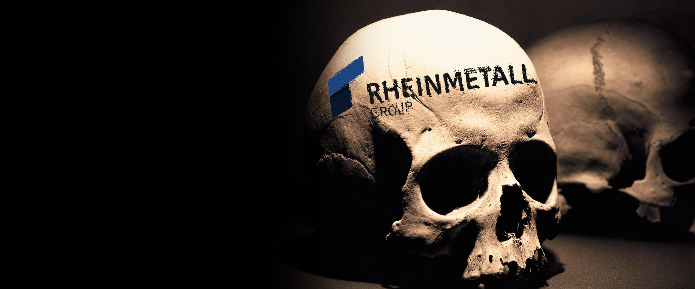 Rheinmetall entrüsten!