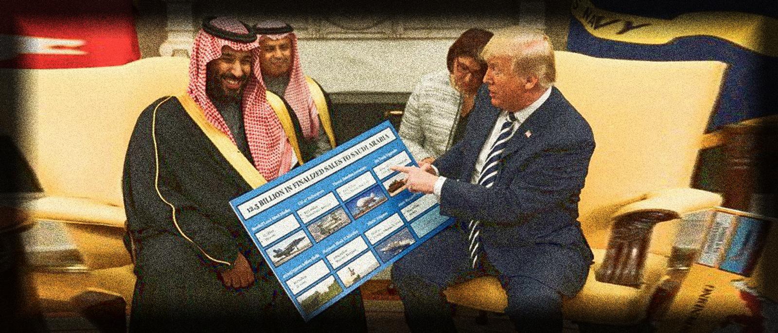 Trump erklärt Fake-Notstand, um weiter Waffen nach Saudi-Arabien zu liefern