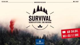 Survival: Folgen nicht Führen – Die Bundeswehr mit neuer YouTube-Serie auf Rekrutenjagd