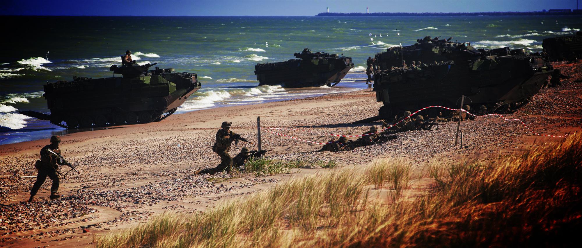 Die Militarisierung der Ostsee