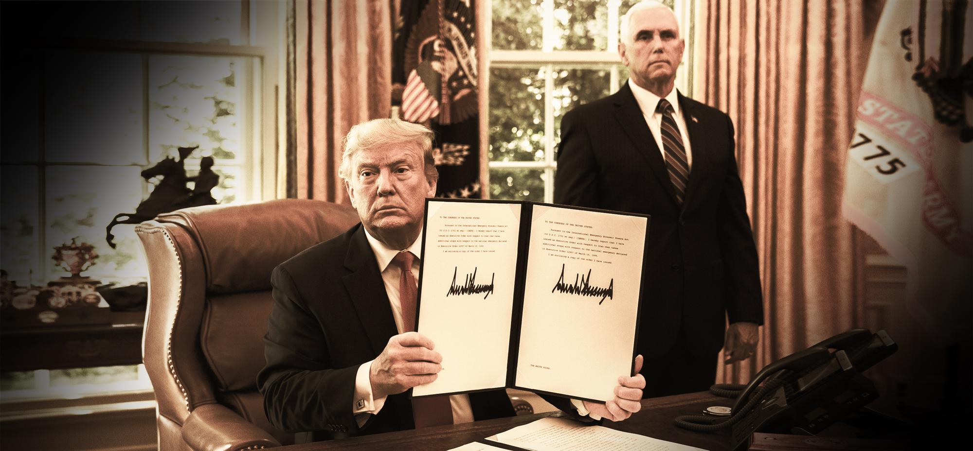 Iran-Sanktionen: Wie kam es dazu und was sind die Folgen? <br>  <span id='sec-title'>Trumps Wirtschaftskrieg</span>