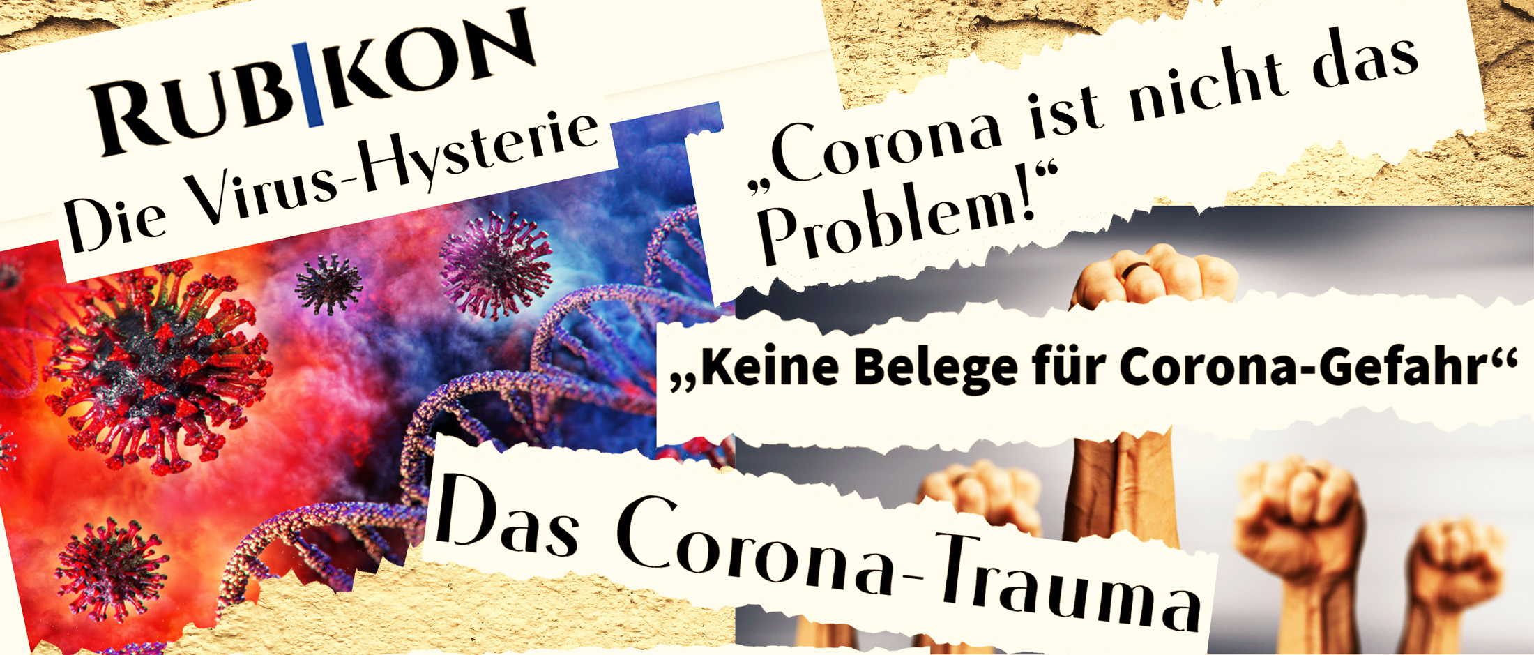 """Kritik des Rubikon in der Corona-Krise <br>  <span id='sec-title'>Die Pleite der """"alternativen Medien""""</span>"""