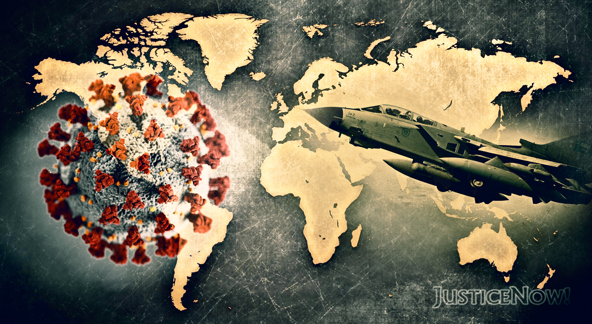 Gesundheit schützen! Militär abrüsten und Klimawandel stoppen! <br>  <span id='sec-title'>Virtueller Ostermarsch 2020</span>