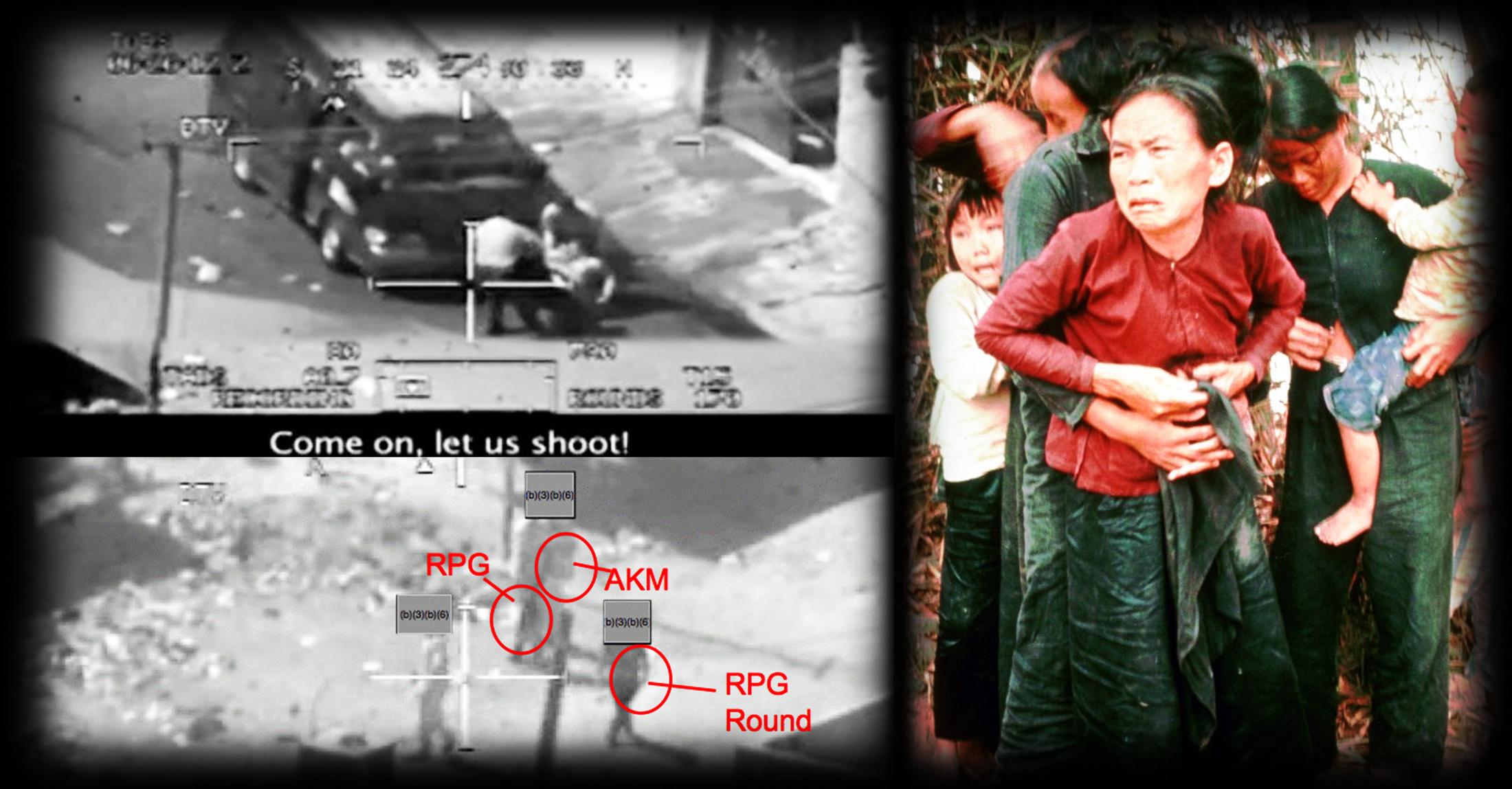 """""""Collateral Murder"""" und das Massaker von Mỹ Lai <br>  <span id='sec-title'>Der Krieg gegen die Wahrheit</span>"""