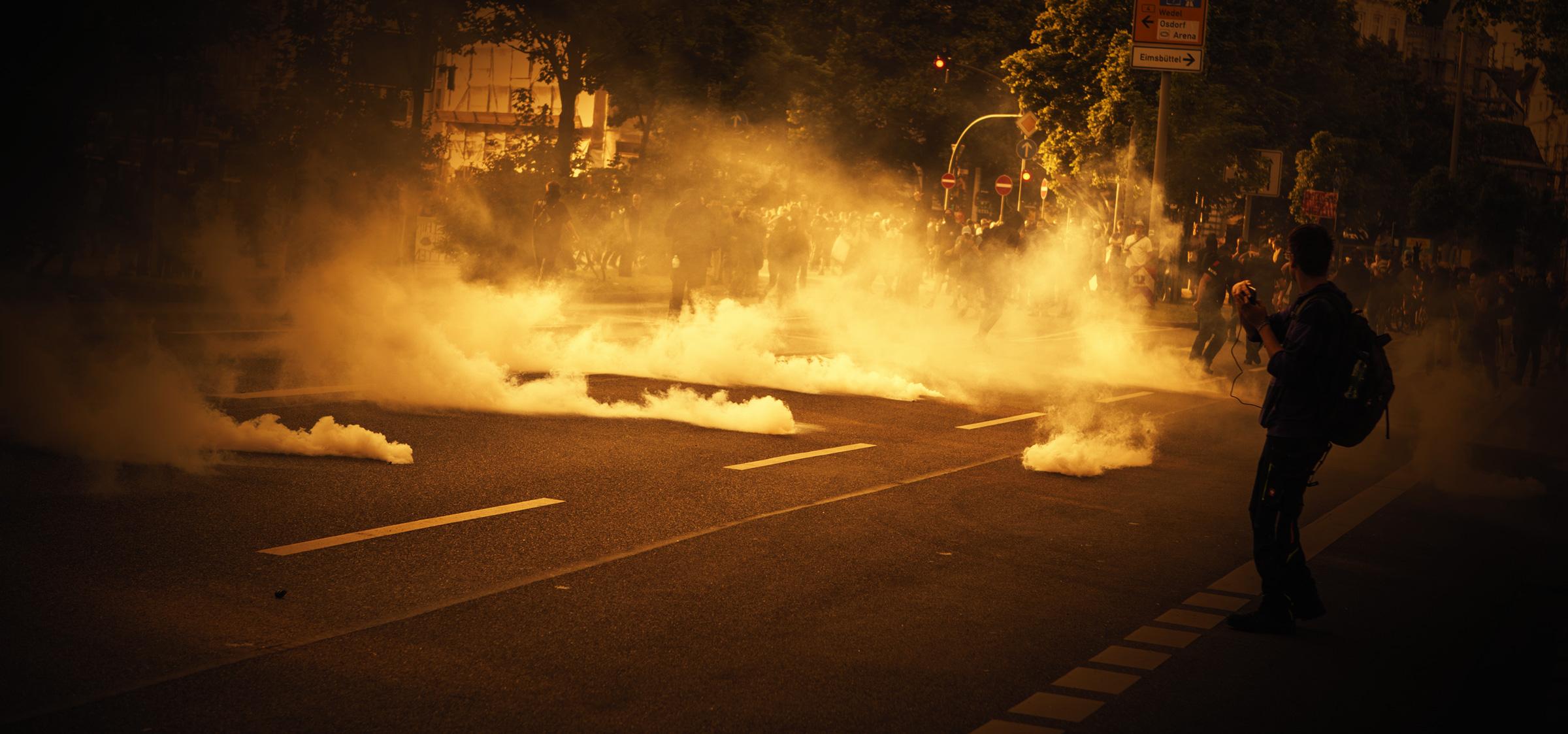 Keine einzige Anklage – Polizeigewalt beim G20