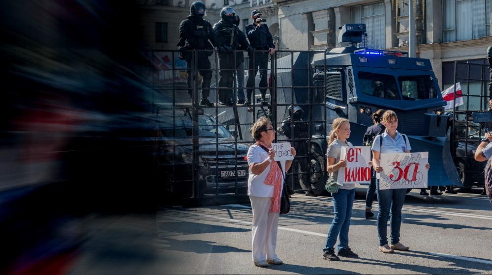 """""""Der gesamte Diktaturapparat muss gestürzt werden"""" – Im Gespräch mit ABC Belarus. <br>  <span id='sec-title'>Eine anarchistische Perspektive auf die Proteste in Belarus.</span>"""