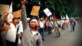 Eine neue Protestwelle in Indonesien
